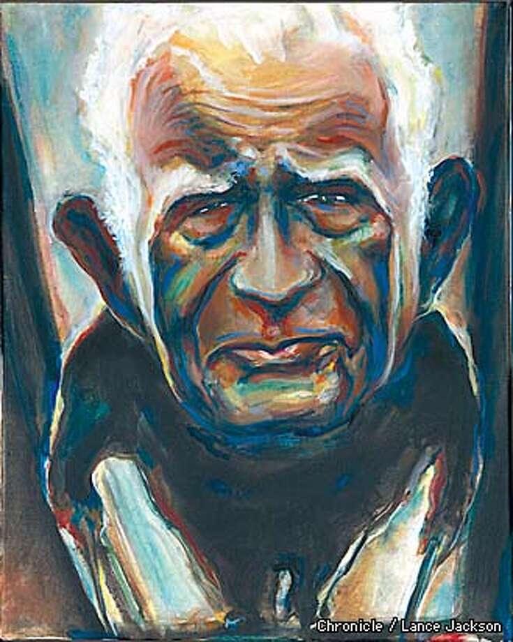 Norman Mailer painting Photo: Lance Jackson