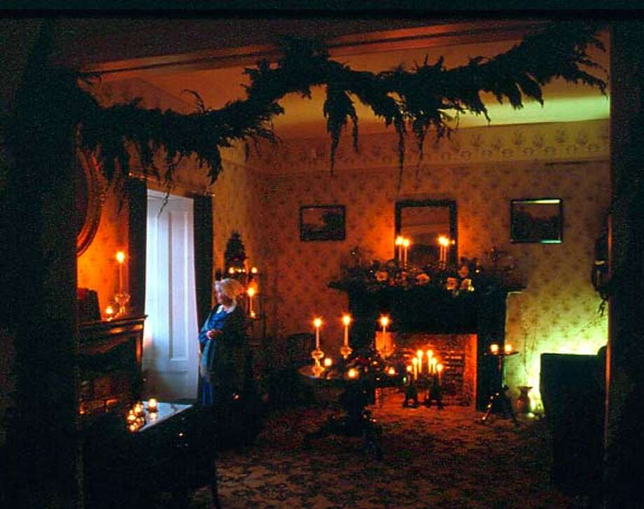 TRAVEL MONTEREY -- Monterey State Historic Park in downtown Monterey will hold its 21st Christmas in the Adobes, opening 19 historic buildings decorated for the holidays, to visitors on self-guided tours.  credit: California Department of Parks and Recreation Travel#Travel#Chronicle#11/28/2004#ALL#Advance##0422482698 Photo: California Department Of Parks A