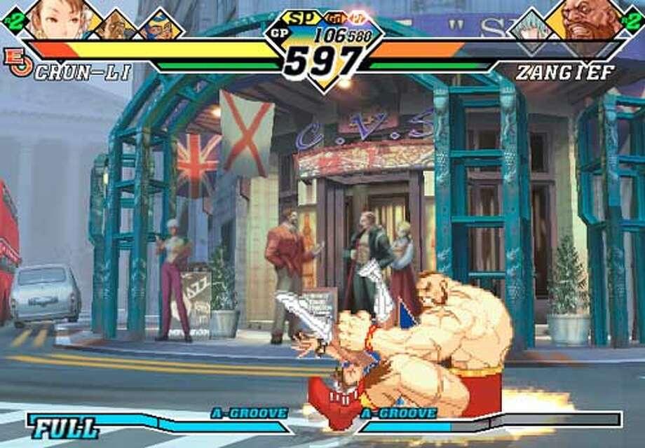 Capcom vs SNK EO  HANDOUT PHOTO/VERIFY RIGHTS AND USEAGE Photo: HANDOUT