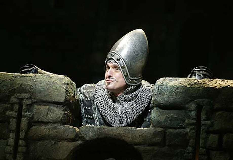 "This 2005 photo from the producers of Monty Python's Spamalot, shows Hank Azaria in his role in ""Monty Python's Spamalot."" The offbeat musical grabbed 14 Tony Award nominations Tuesday, May 10, 2005, including a best actor nod for Azaria and a best musical nomination. (AP Photo/Monty Python's Spamalot, Joan Marcus) 2005 PHOTO, Photo: JOAN MARCUS"