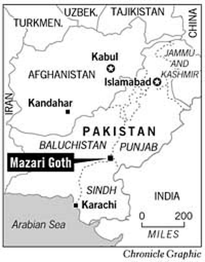 Mazari Goth. Chronicle Graphic