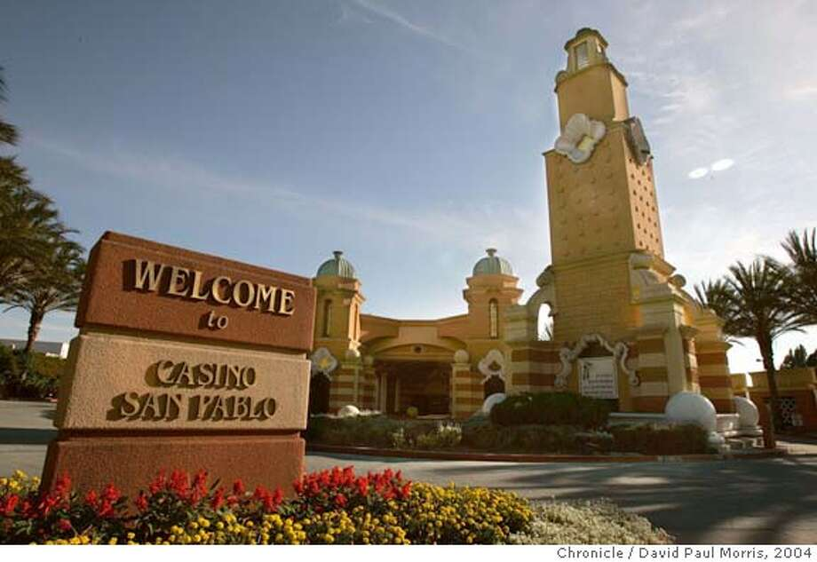 San Pablo, CA- AUGUST 20: The Casino San Pablo located off San Pablo Dam Road and San Pablo Road in San Pablo, California on August 20, 2004. (Photo by David Paul Morris/ The Chronicle) Ran on: 08-24-2004  Casino San Pablo doesn't have slot machines now; it has card games like Pan 9 Fast, 21st Century blackjack and Texas Hold' em. Ran on: 08-24-2004  Casino San Pablo currently has no slot machines. Ran on: 08-24-2004  Casino San Pablo doesn't have slot machines now; it has card games like Pan 9 Fast, 21st Century blackjack and Texas Hold 'em. Ran on: 08-24-2004  Casino San Pablo currently has no slot machines. Ran on: 10-24-2004  Casino San Pablo, located just off Interstate 80 in San Pablo, is now owned by the formerly landless Lytton Band of Pomo Indians. Ran on: 01-13-2005  Casino San Pablo would house 2,500 slot machines if the Lytton Band of Pomo Indians succeeds. Ran on: 01-23-2005  Casino San Pablo now contributes 15 percent of the city's general fund and has helped pay for police and a health clinic. Ran on: 02-09-2005  The building now housing Casino San Pablo would be replaced with a much larger structure under the Lytton Band's new plan. Ran on: 02-09-2005 Photo: David Paul Morris