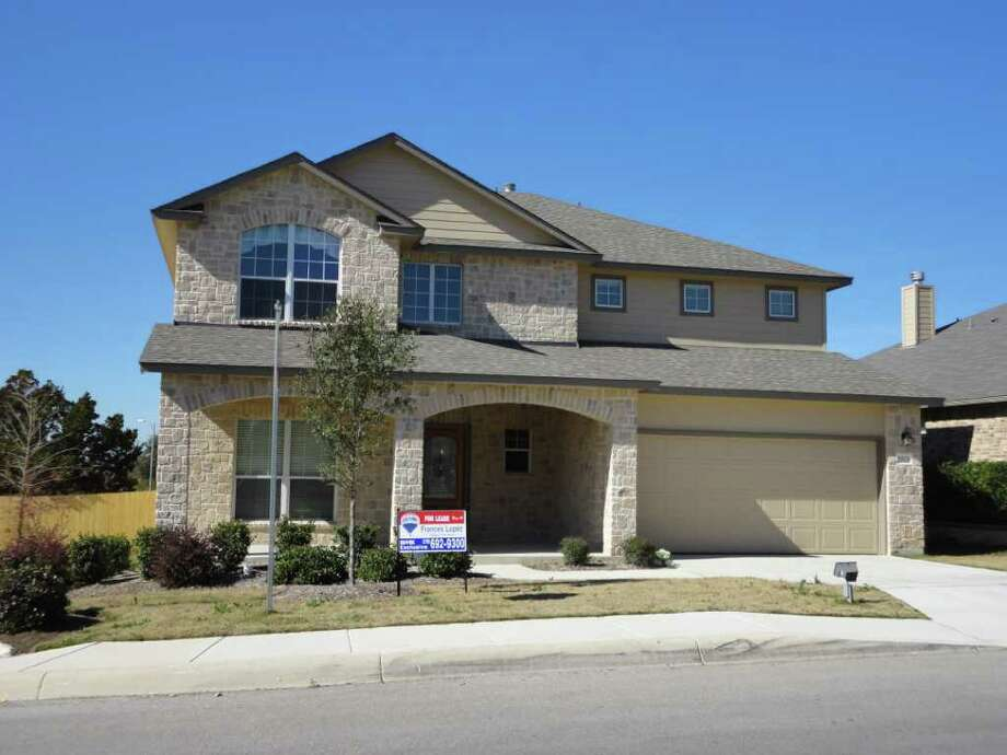 This Two Story Five Bedroom House Sits In The Gated Community Of Wortham
