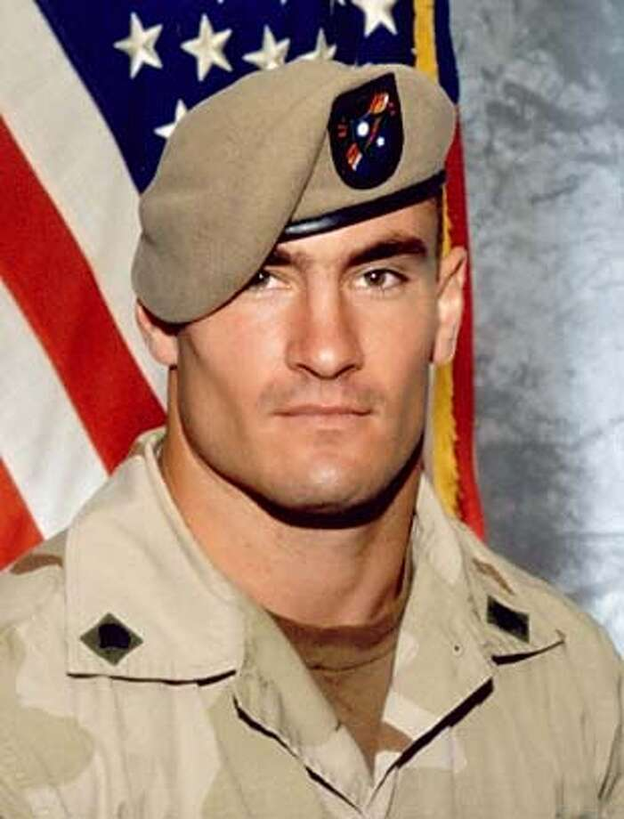 The U.S. Army determined days after Army Ranger Pat Tillman's 2004 death in Afghanistan that the former professional football player had been killed by friendly fire, but kept it secret for weeks and even destroyed evidence, Army officials said May 4, 2005. A 1,600-page report by Brig. Gen. Gary Jones of the Army Special Operations Command found that the Army did not tell his family or the public that Tillman, pictured in this undated photograph, had been killed mistakenly by fellow Rangers until weeks after his nationally televised memorial service, officials said. EDITORIAL USE ONLY /HO Photo: HO