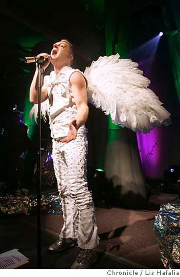 Erasure, a pioneering gay '80s synth-pop duo, is promoting its latest album, Nightbird, with multiple shows planned in major cities. Shot in San Francisco on 5/20/05. Photo: Liz Hafalia