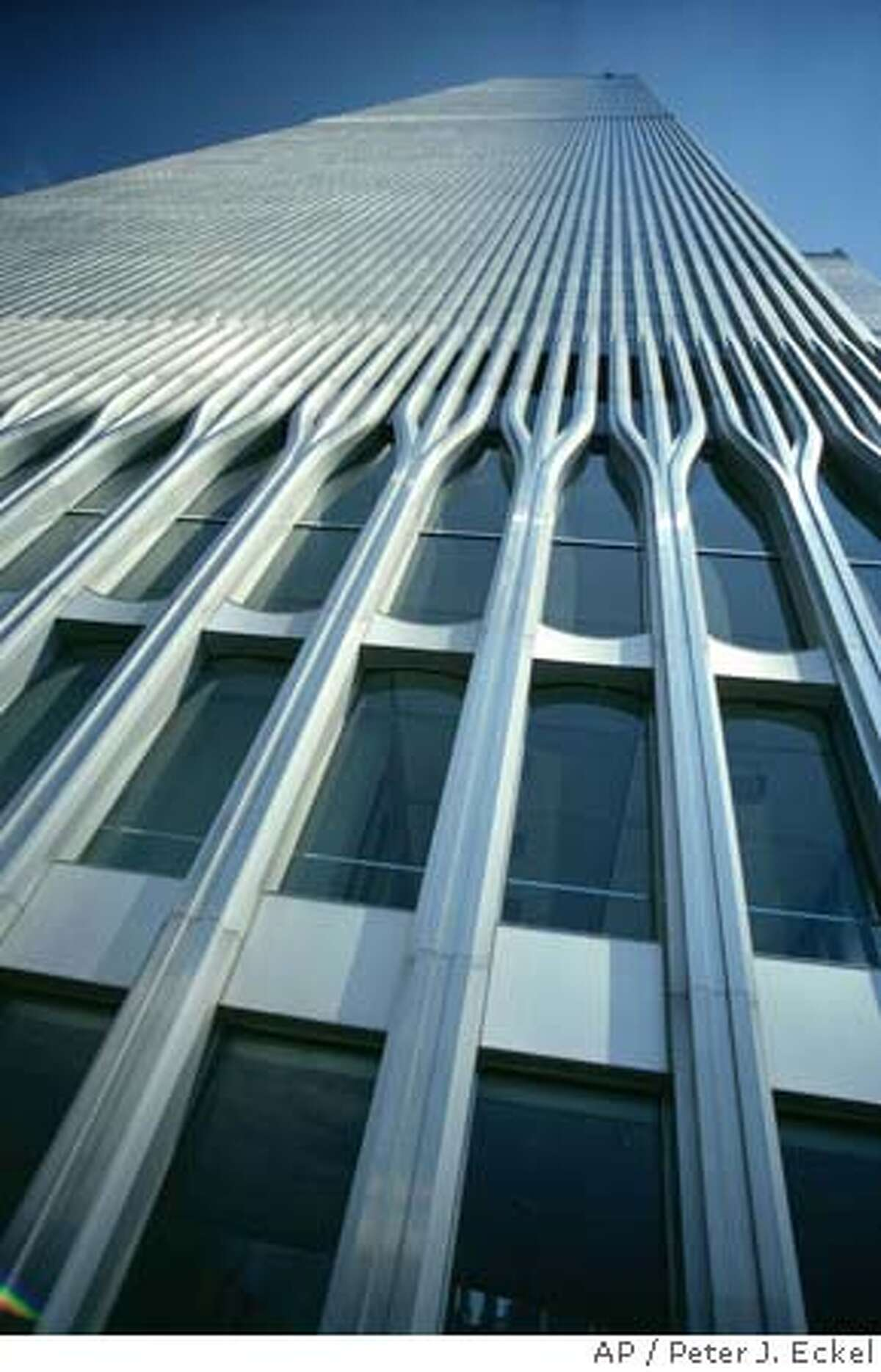 A view of the facade of the World Trade Center is shown the late 1970's. (AP Photo/Peter J. Eckel) COMMERCIAL RATES APPLY TO AP U.S. MEMBER MAGAZINES. CALL WIDE WORLD PHOTOS, NY FOR RATES. 212-621-1930 Ran on: 11-28-2004 The Great Mosque in Mecca, Saudi Arabia, has several features that have been copied in western architecture, including pointed arches, domes and minarets.. Ran on: 11-28-2004