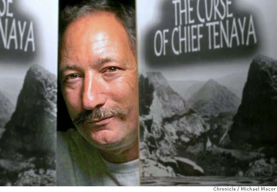 """Craig Carrozzi is a writer who runs Southern Trails Press out of a corner of his bedroom on Clement Street. His lates book, """"The Curse of Chief Tenaya"""" is a novel set in Hetch Hetchy Valley before the dam. This is a subtle form of activism for his goal to see the reservoir drained and nature restored. 3/31/05 San Francisco, Ca Michael Macor / San Francisco Chronicle Photo: Michael Macor"""