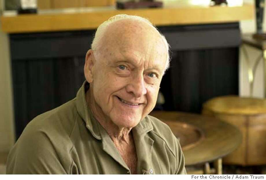 Joseph Portnoy is putting together a book based on hundreds of letters he wrote to his wife during World War II. The former Army sergeant was in various countries in Europe throughout the war, and was an almost daily correspondent to his young pregnant bride. Photo by Adam Traum/The San Francisco Chronicle Photo: Adam Traum