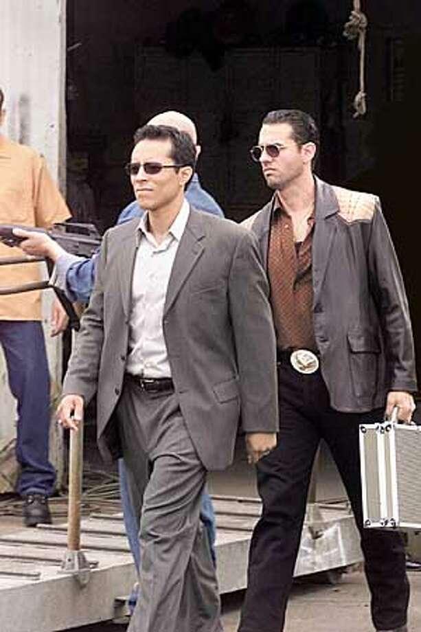 "KINGPIN -- NBC Series -- ""Black Magic Woman"" -- Pictured: (l-r) Yancey Arias as Miguel Cadena, Bobby Cannavale as Chato Cadena -- NBC Photo: Chris Haston"
