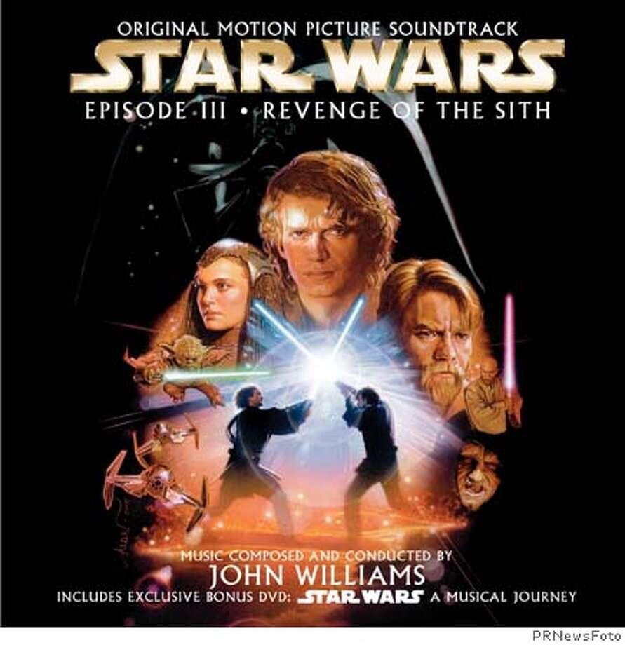 Star Wars Episode III DVD cover art. (PRNewsFoto) *XPRN XPFF* SEE STORY 20050517/NYTU182, NY (100601) Media contact: Doreen DAgostino Sony BMG Masterworks +1-212-833-7576 doreen.dagostino@sonybmg.com.
