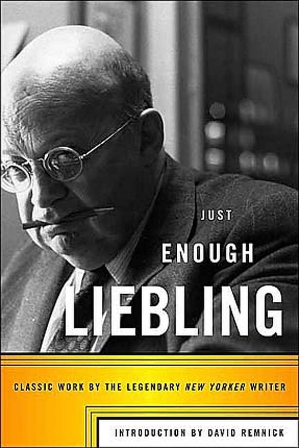 Book cover art for, Just Enough Liebling.