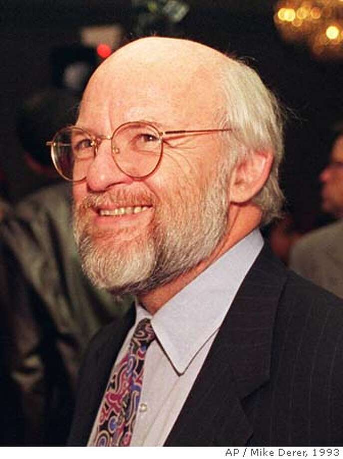 FILE---Political consultant Ed Rollins, seen in this Oct. 19, 1993 file photo, has resigned from Senate Majority Leader Bob Dole's presidential campaign, a Dole spokesman said Sunday, May 28, 1995. Rollins referred to two Jewish congressmen as ``Hymie boys'' at a political roast. (AP Photo/Mike Derer) THIS IS AN OCT. 19, 1993 FILE PHOTO. ALSO RAN: 8/7/96, 02/22/2004 CAT Photo: MIKE DERER