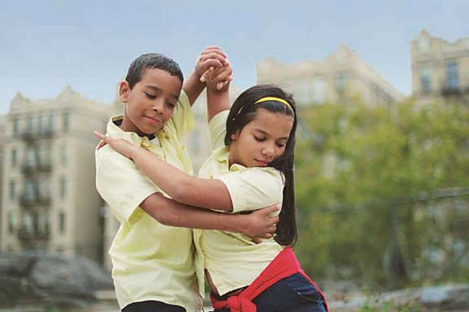 Students WILSON and JATNNA strut their stuff in Paramount Classics' documentary MAD HOT BALLROOM, an inspiring look at inner city public school kids in ballroom dancing competitions. From first time feature director Marilyn Agrelo.