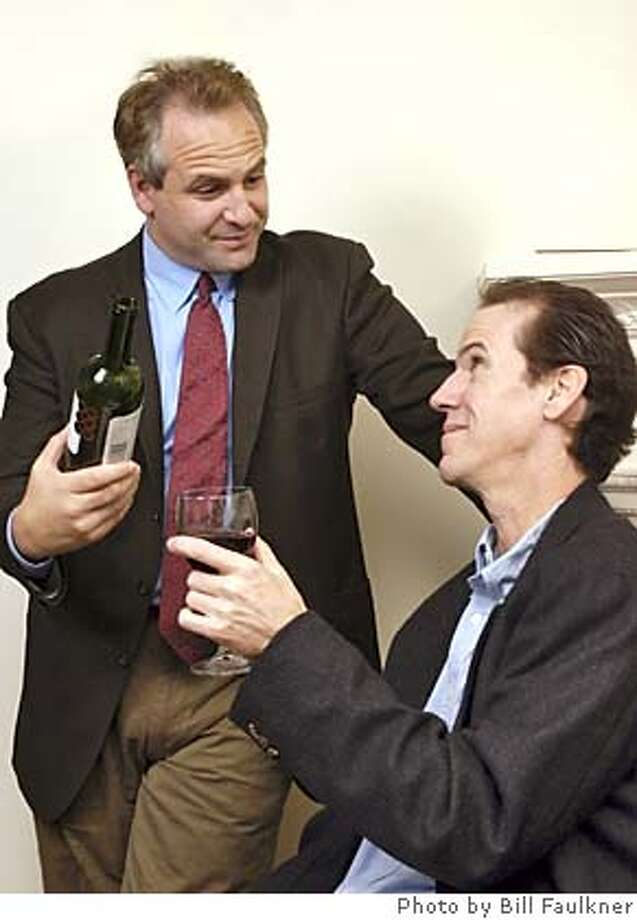 (L-R) Eric Siegel as Doug Bernstein and Robert Parsons as Tom Rashman. Photo: Bill Faulkner