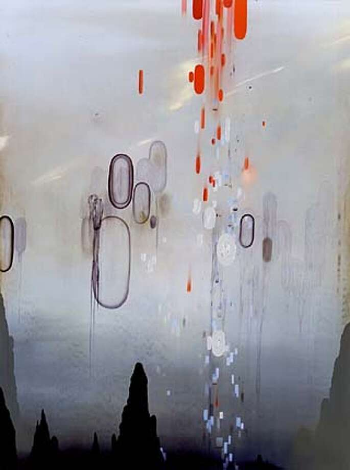 Darren Waterston  Linguistics, 2002  oil on wood panel  48 x 36 inches HANDOUT PHOTO/VERIFY RIGHTS AND USEAGE Photo: HANDOUT