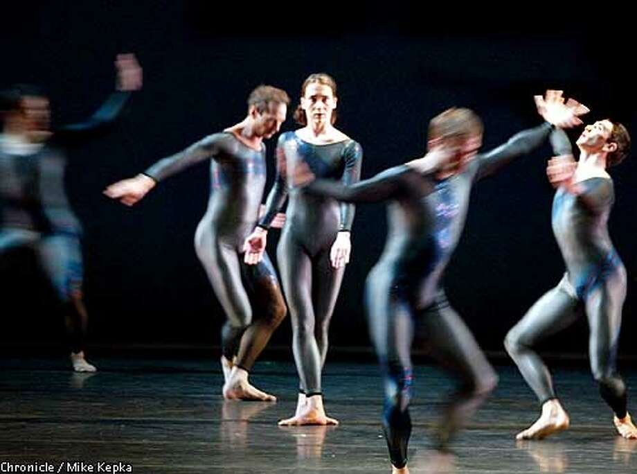 """Fluid Canvas"" marks the U.S. premiere for a Barbican piece. Chronicle photo by Mike Kepka"