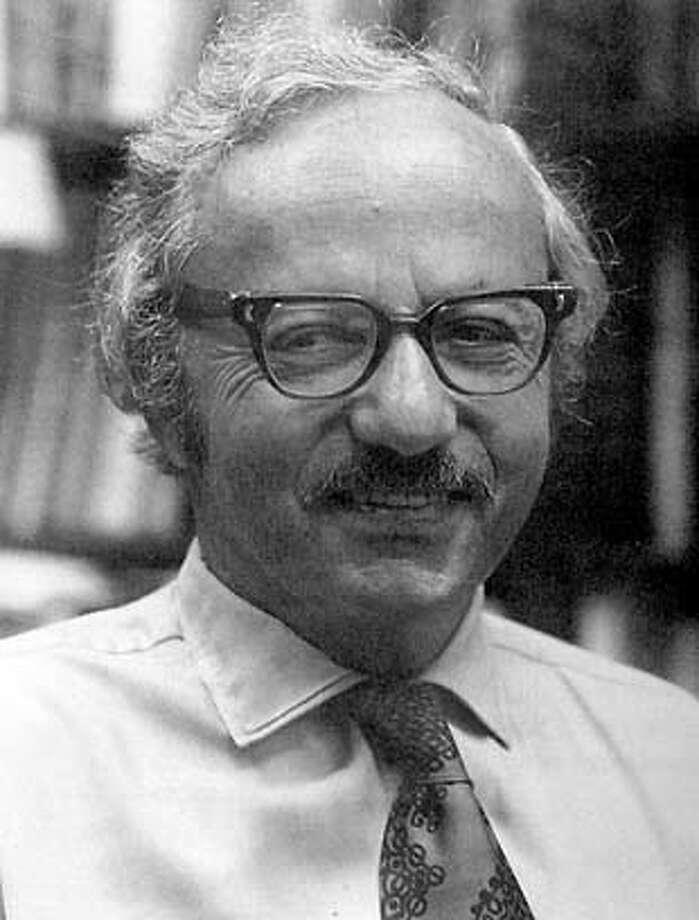 George Dantzig, Stanford Professor. Obit photo. Photo: HANDOUT