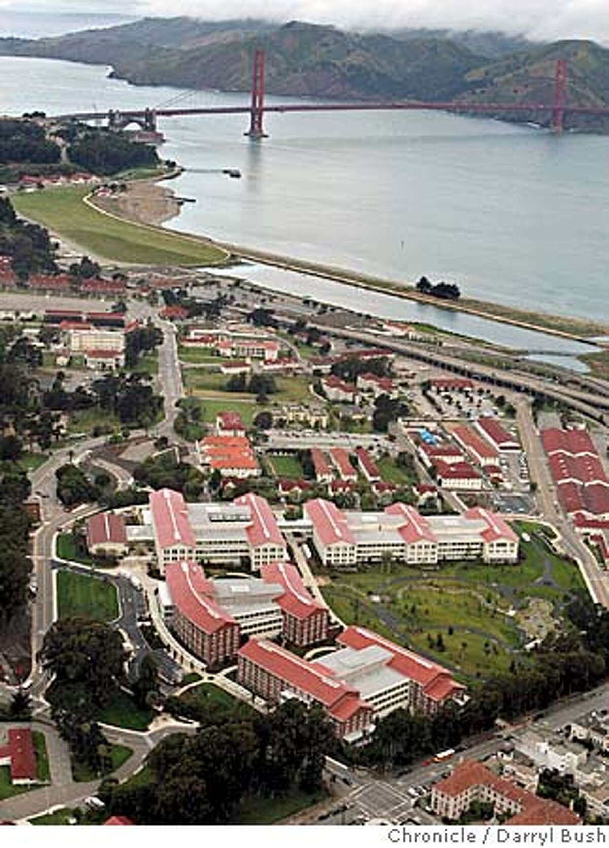 presidio_136_db.jpg Aerial view of George Lucas's new Lucasfilm headquarters; the complex called,