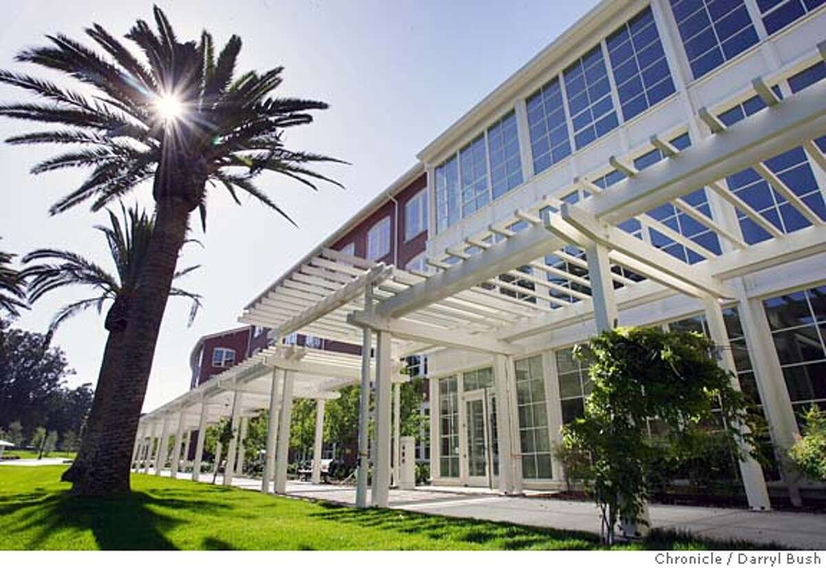 One of George Lucas's new buildings at Lucasfilm headquarters; the complex called,