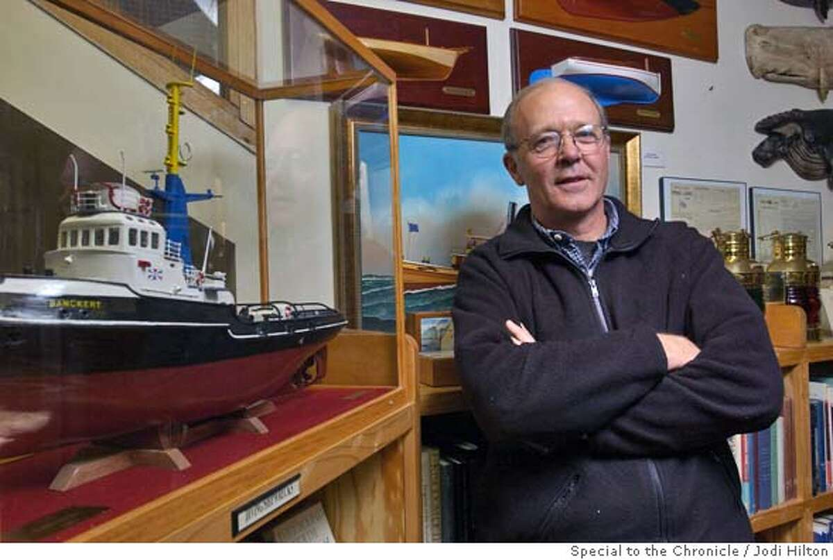 HYANNIS, MASS.--Dick Hawkins, owner of Columbia Trading Company in Hyannis, is interested in seeing the outcome of the fight over a proposed wind farm. He doesn't believe it will have a negative impact on tourism. CREDIT: JODI HILTON
