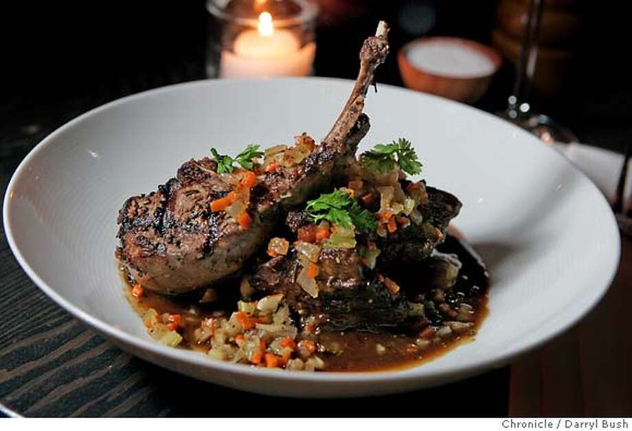 d21oola_059_db.jpg  Lamb daube at Oola Restaurant and Bar on Folsom St.  10/29/04 in San Francisco  Darryl Bush / The Chronicle Ran on: 11-21-2004  Chef-owner Ola Fendert. Photo: Darryl Bush