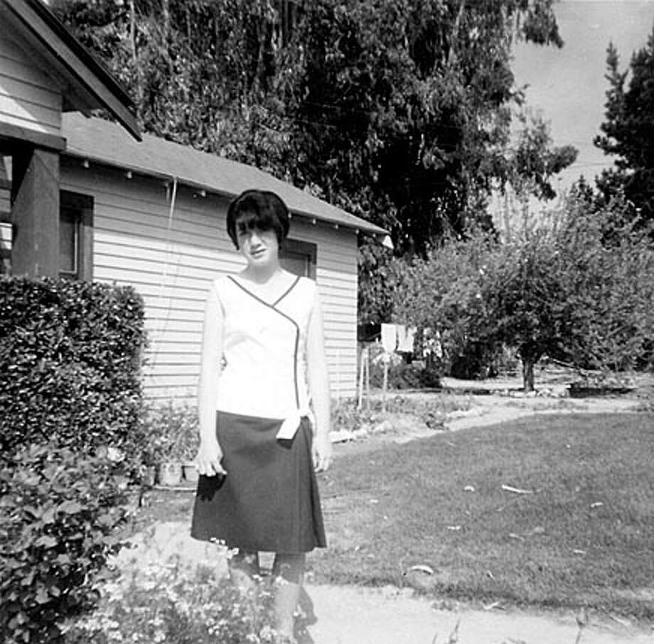 "Rose Castillo Guilbault, author of ""Farmworker's Daughter: Growing Up Mexican in America"" (Heyday Books) Caption from the boook: The author, 14 years old, outside the ""casa grande.""  FOR USE WITH BOOK REVIEW ONLY"