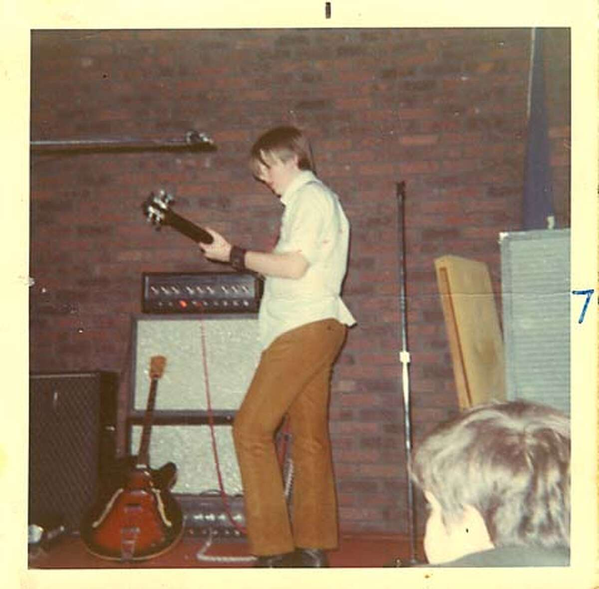 1968: At 14, Bennett was lead singer and guitarist for Geometric Progression, his garage band in New York. Photo courtesy of Fran Bennett
