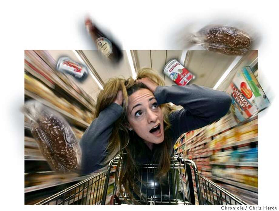 wheat11_ch_089.jpg  Illustration for story about people (lots of 'em) who are allergic to wheat and gluten. Most processed food contains some form of wheat or gluten, and is bad news for these people. in San Francisco  5/3/05 Chris Hardy / San Francisco Chronicle Photo: Chris Hardy