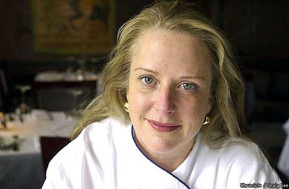 Nancy Oakes, chef/owner of Boulevard restaurant.  Photo by Craig Lee/San Francisco Chronicle Photo: CRAIG LEE