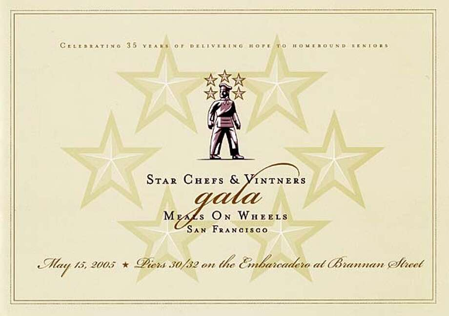 Star Chefs & Vintners Gala on Sunday celebrates meals on wheels 35th anniversary.
