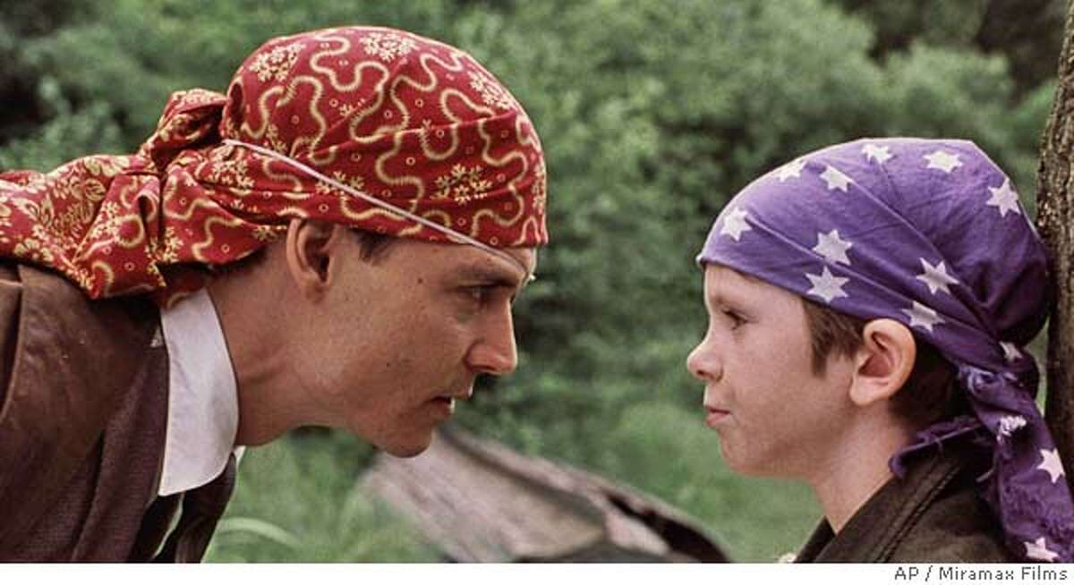 Johnny Depp and Freddie Highmore in Marc Forster's