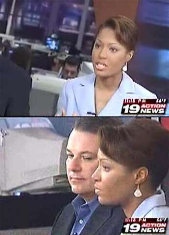 Cleveland Anchor Appears Nude In Newscast - SFGate