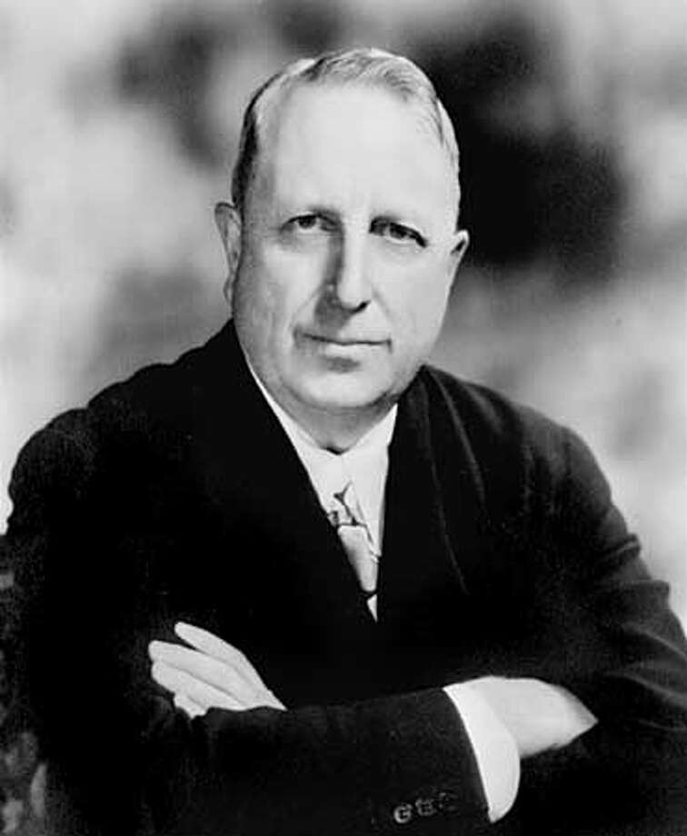 A 1935 portrait of William Randolph Hearst, noted American publisher. (AP Photo) ALSO RAN: 4/15/99 Photo: AP PHOTO