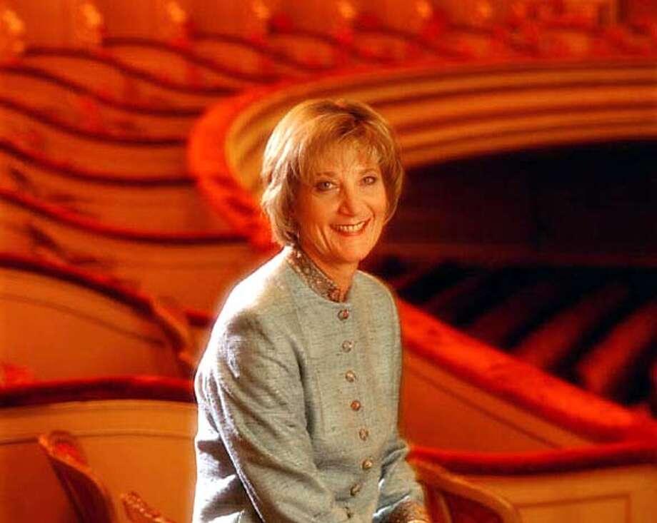 San Francisco Opera general director Pamela Rosenberg: a courageous decision.