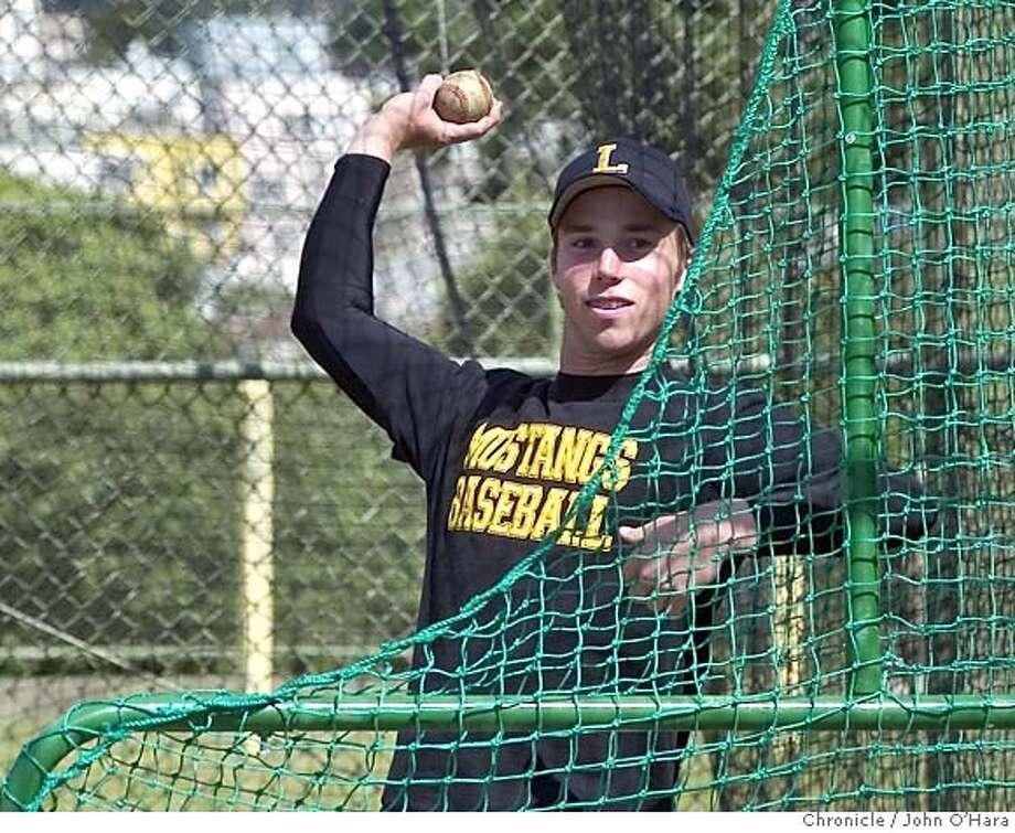Lincoln High School Baseballplayers  CF, Jason Timko  Photo/John O'hara Photo: John O'hara