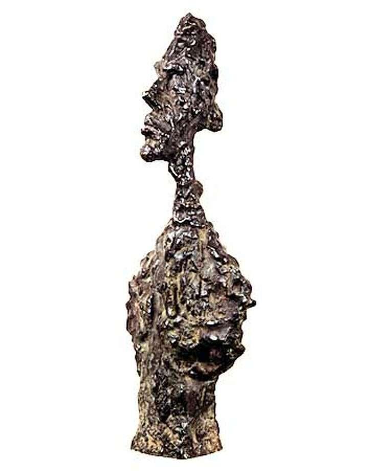 Alberto Giacometti, Tete (Trois Quarts et Profil) (Buste de Diego), 1957, bronze  Bequest of Phyllis Wattis HANDOUT PHOTO/VERIFY RIGHTS AND USEAGE Photo: HANDOUT