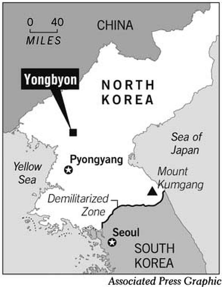 North Korea. Associated Press Graphic