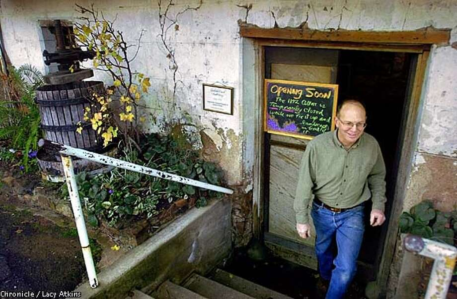 Greg Boeger, owner of Boeger Winery walks out of the old tasting room at the Boeger Winery which is located in the foothills of the Sierra's, know as the Apple Hill region. The old tasting room will be opening in the future as the tasting room for reserve wines only.  SAN FRANCISCO CHRONICLE/LACY ATKINS Photo: LACY ATKINS