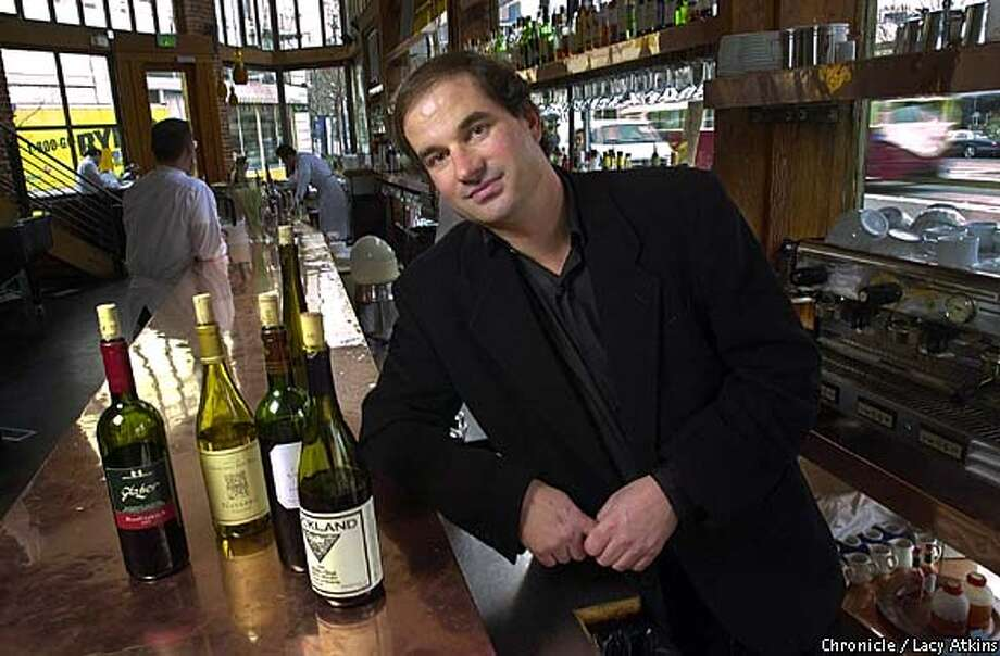 Steve Kopp the sommelier for Zuni in San Francisco.  SAN FRANCISCO CHRONICLE/LACY ATKINS Photo: LACY ATKINS
