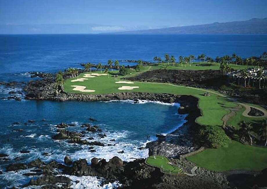 Mauna Kea Golf Course at the Mauna Kea Resort on the Kohala Coast of the Big Island, Hawaii.  Courtesy of Prince Resorts Hawaii/Courtesy of Prince Resorts Hawaii Courtesy of Prince Resorts Hawaii