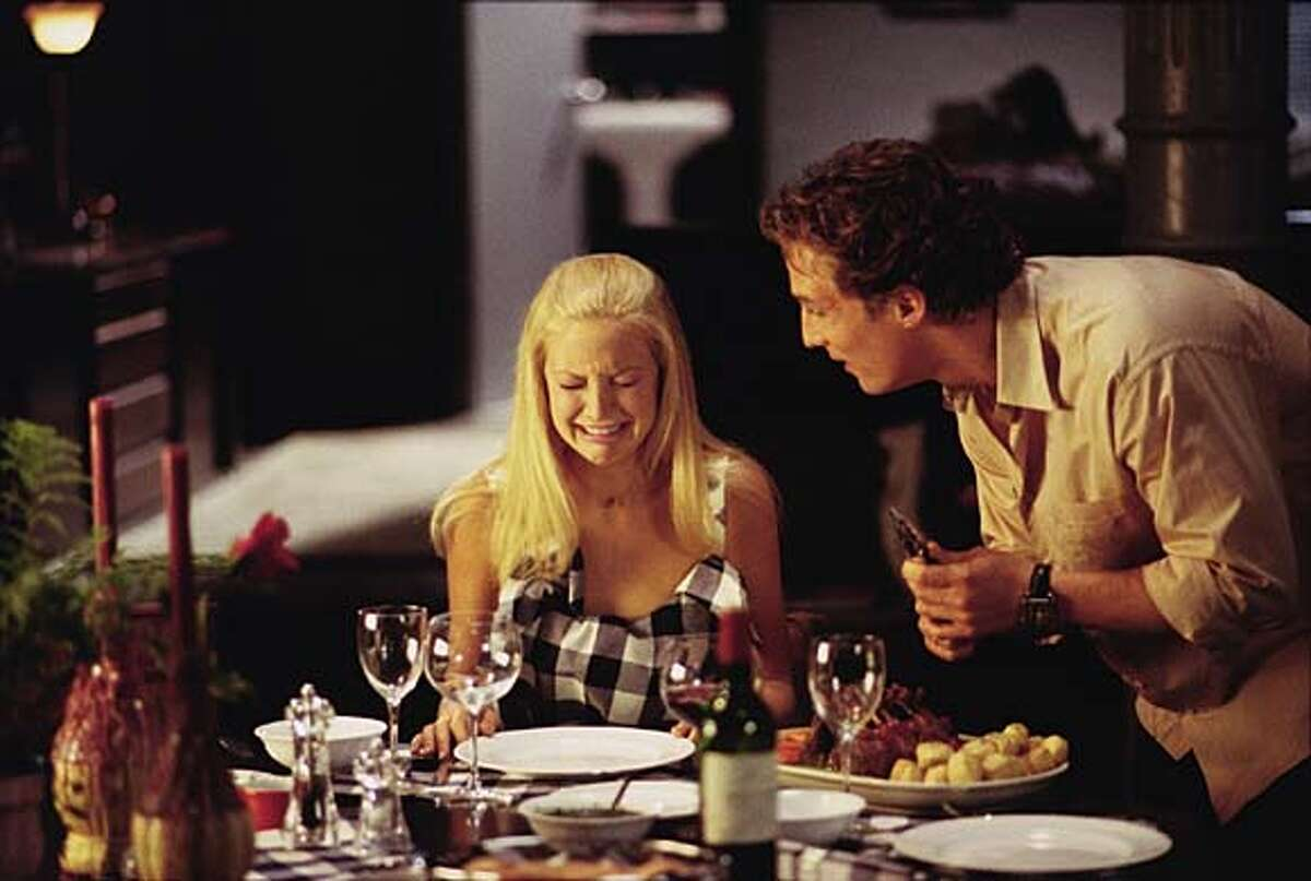 HLG-07958 (Left to right) Kate Hudson as Andie Anderson and Matthew McConaughey as Benjamin Barry in Paramount Pictures' �How to Lose a Guy in 10 Days.�