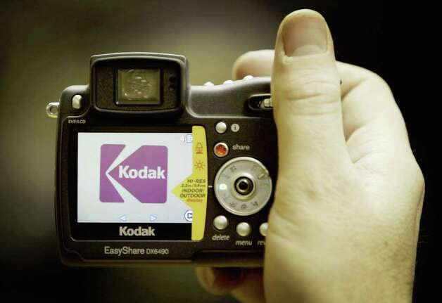 LONDON - JANUARY 15:  A digital image is seen on the screen of a Kodak camera January 15, 2004 in London. The international photography giant has announced plans to stop selling traditional film cameras in North America and Europe, marking the company's full embrace of the digital age. Photo: Ian Waldie, Getty Images / 2004 Getty Images