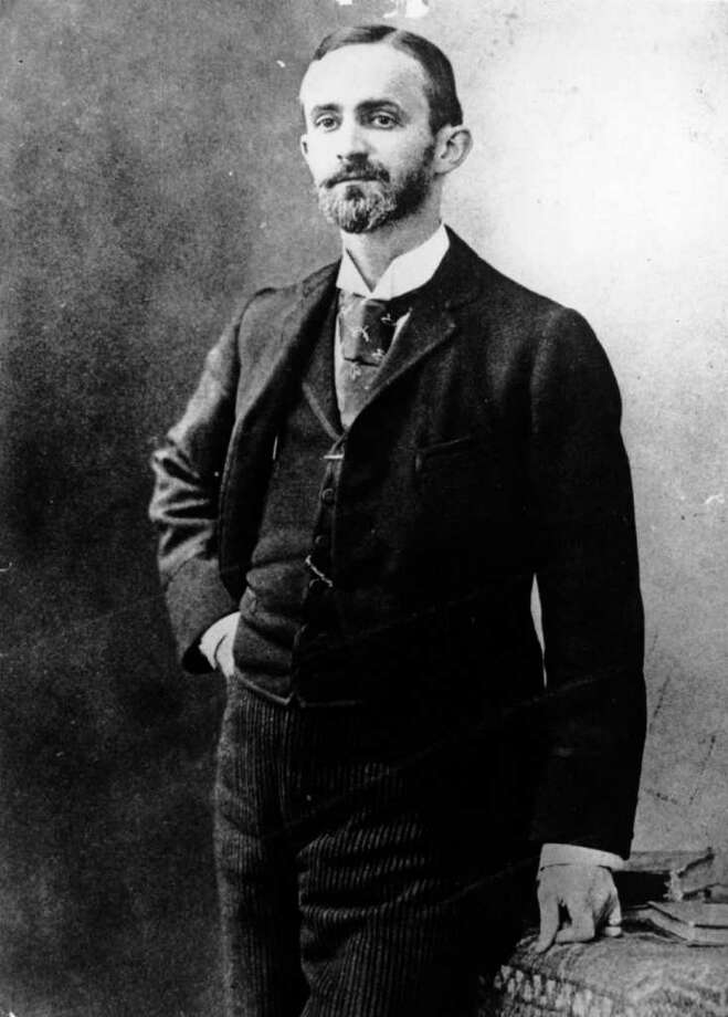 circa 1890:  George Eastman (1854 - 1932), US philanthropist and inventor, born in New York.  He produced the 'Kodak' box camera in 1888.  He worked with Edison, and performed experiments which made the moving-picture industry possible.  He produced the Brownie camera in 1900. Photo: Hulton Archive, Getty Images / Hulton Archive