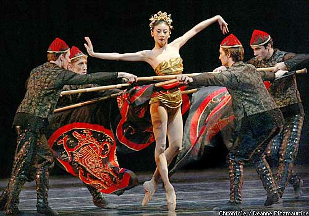 Chi-Lin is performed at the San Francisco Ballet. Yuan Yuan Tan as Chi-Lin. CHRONICLE PHOTO BY DEANNE FITZMAURICE