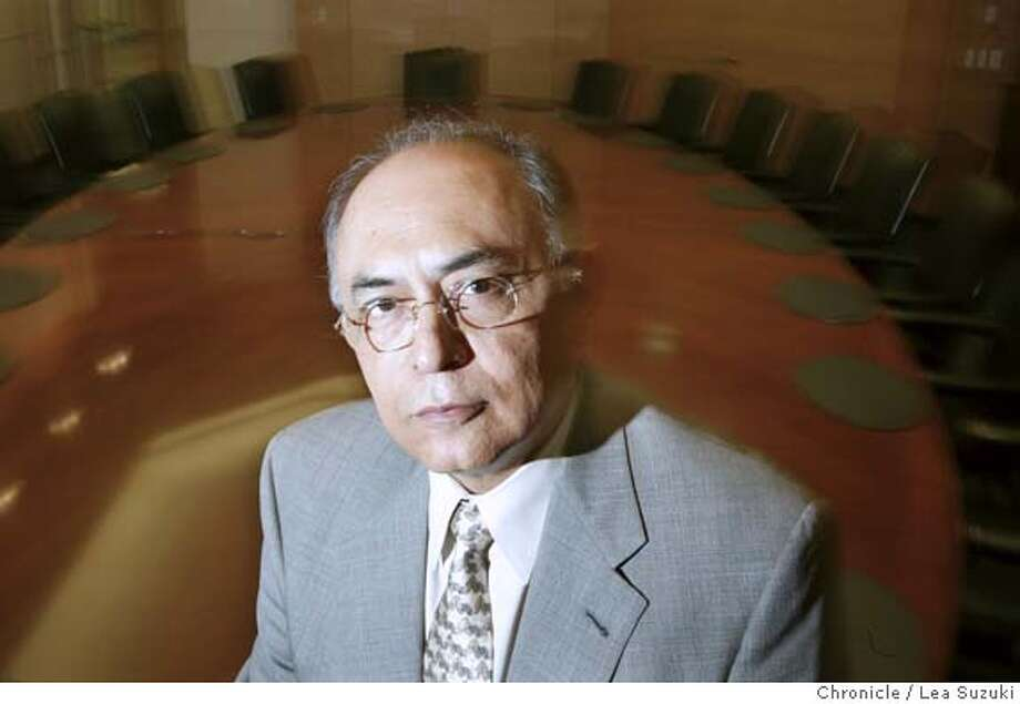 HECTORXXA-C-16APR02-BU-LS ---- HECTOR RUIZ, new AMD CEO. Hector de Jesus Ruiz will become the new CEO on April 25 replacing Jerry Sanders who founded the company 33 years ago.  Photo by Lea Suzuki/SAN FRANCISCO CHRONICLE cat Business#Business#Chronicle#11/13/2004##5star##421852254 Photo: LEA SUZUKI