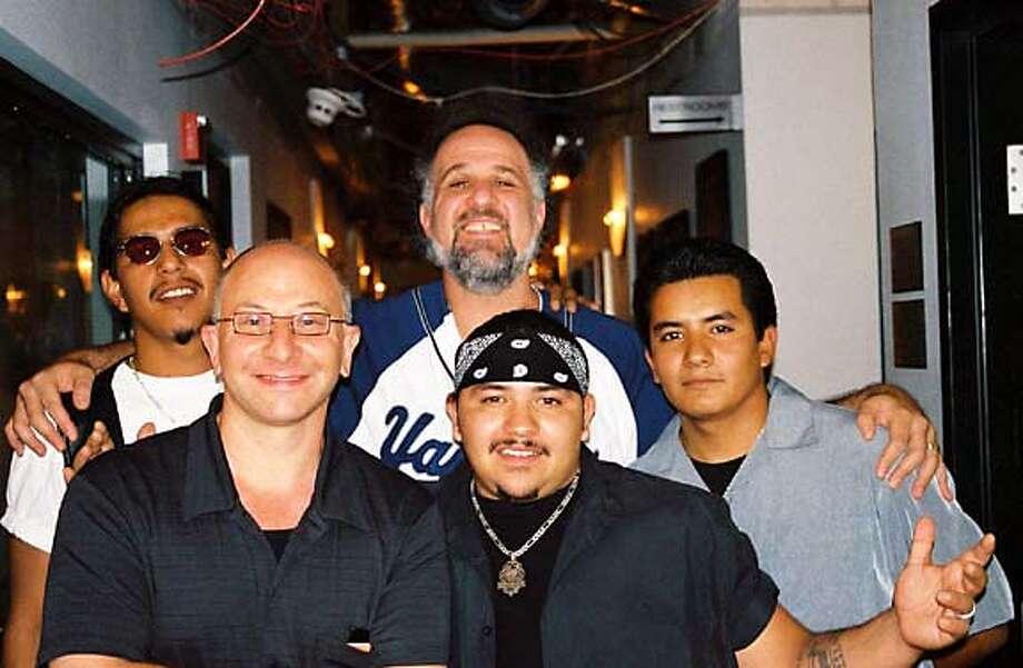 Guy in bandana is Ringo Garza of Los Lonely Boys Datebook#Datebook#SundayDateBook#11-07-2004#ALL#Advance##0422446110 Datebook#Datebook#SundayDateBook#11-07-2004#ALL#Advance##0422446110 Datebook#Datebook#SundayDateBook#11-07-2004#ALL#Advance##0422446110