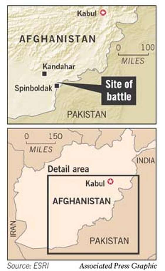Afghanistan. Associated Press Graphic