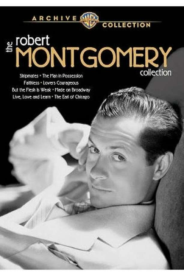 dvd cover THE ROBERT MONTGOMERY COLLECTION Photo: Warner Archive