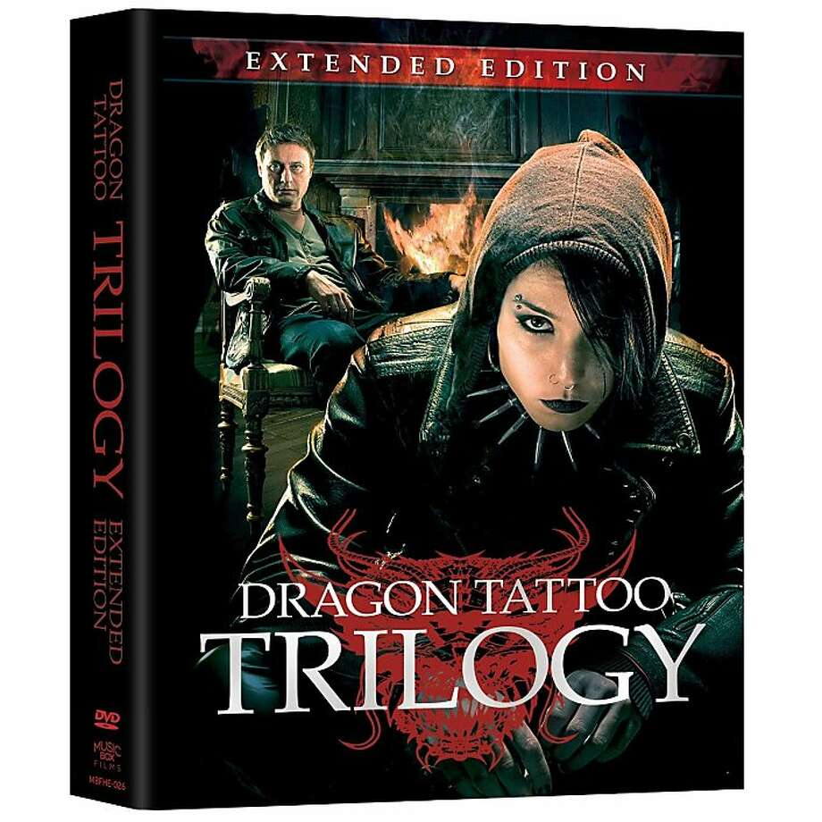 dvd cover DRAGON TATTOO TRILOGY EXTENDED EDITION Photo: Music Box Films, Amazon.com