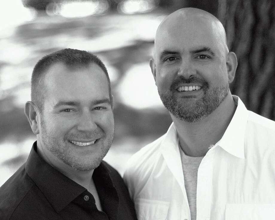 The radio team Fernando and Greg: Greg Sherrell on the left; Fernando on the right. Photo: Kmvq